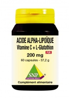 Acide alpha-lipoïque 200 mg Pur