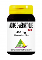 Acide d-aspartique 400 mg Pur