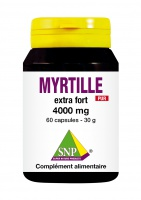 Myrtille Extra Fort 4000 mg Pur