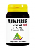 Mucuna Pruriens extra fort 3750 mg Pur
