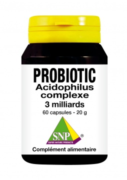 Probiotic: 11 cultures - 3 milliards de cellules