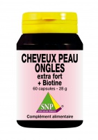 Cheveux Peau Ongles extra fort + Biotine