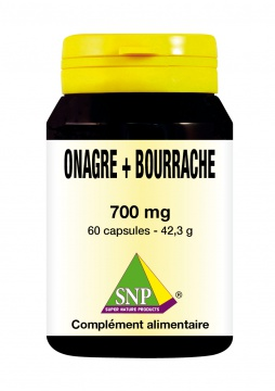 Onagre + Bourrache