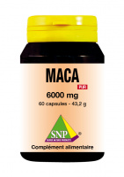 Maca 6000 mg extra forte pur