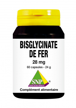 Bisglycinate de fer 28 mg