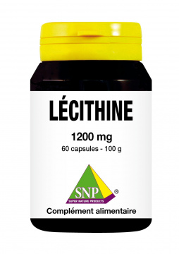Lécithine 1200 mg