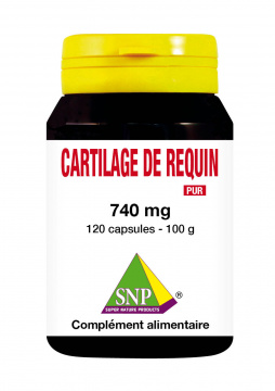 Cartilage de Requin 740 mg pur 120 capsules