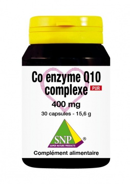 Co enzyme Q10 complexe 400 mg Pur