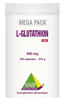 L-Glutathion   300 mg PUR  750 capsules  MEGA PACK