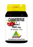 Canneberge + Vitamine C 5000 mg